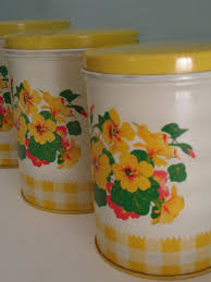 yellow kitchen canister set 126 best yellow canisters images on canister sets