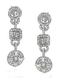 drop earrings wedding earrings for your wedding day and beyond martha stewart weddings
