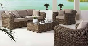 Beautiful Outdoor Wicker Sofa Set Abson Ventura Outdoor Wicker - Wicker sofa sets