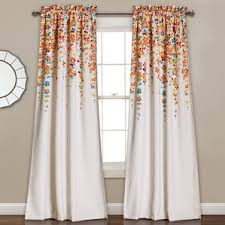 Rust Colored Curtains Orange Curtains U0026 Drapes You U0027ll Love Wayfair