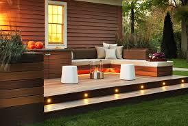 outdoor space ideas 15 attractive step lighting ideas for outdoor spaces home