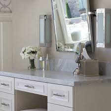 bathroom makeup vanity ideas built in up vanity design ideas