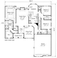 Sample Of Floor Plan For House Evansbrook House Floor Plan Frank Betz Associates