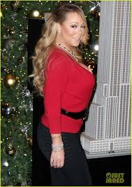 Empire State Building Halloween Light Show Mariah Carey Brings Rumored Boyfriend Bryan Tanaka To Turn On