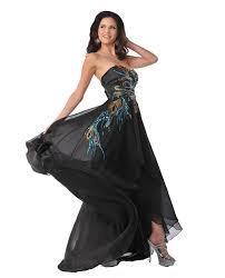 long black metallic peacock formal peacock dresses 2017