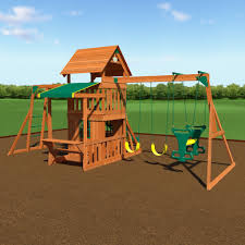 How To Build A Wooden Playset Saratoga Wooden Swing Set Playsets Backyard Discovery