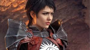 dragon age inqusition black hair this cosplayer is literally cassandra pentaghast from dragon age