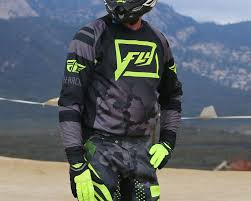 motocross gear packages 2016 fly evolution 2 0 code pant and jersey dirt bike test
