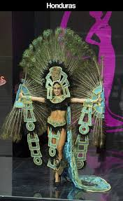miss universe pageant contestants parade costumes for their
