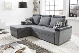canapé d angle convertible gris canapé d angle convertible contemporain en tissu coloris gris