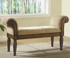 Bedroom Upholstered Benches End Of Bed Storage Benches Entryway Furniture Ideas