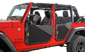 jeep rubicon 4x4 4 door dirtydog 4x4 smittybilt door screens for 07 17 jeep wrangler