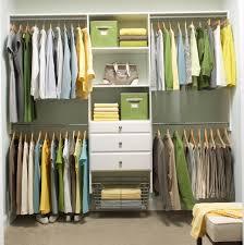 Closet Organizing Closetmaid Selectives 25 In White Custom Closet Organizer 7029