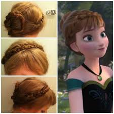 anna from frozen hairstyle pictures on anna hairstyle cute hairstyles for girls