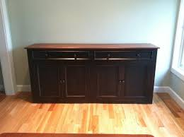 Wooden Buffet Table by Black And White Buffet Table Black Buffet Table Gives Perfect
