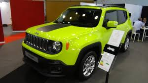 vintage jeep renegade 2018 jeep renegade south beach 1 6 multijet 95 exterior and