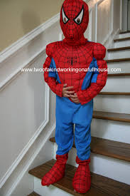 halloween spiderman costume mr costumes spiderman muscle halloween costume two of a kind