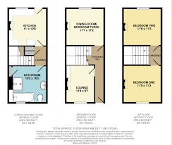 3 bedroom terraced house plan house and home design