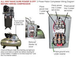 compressor wiring diagram three phase compressor wiring diagrams