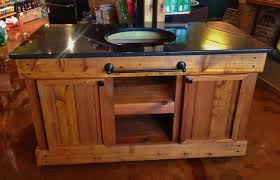 Green Egg Table by Big Green Egg Table Double Door