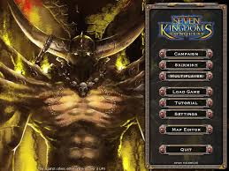 7 Kingdoms Map Seven Kingdoms Ii The Fryhtan Wars Download Rtsplayers
