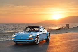 singer porsche blue singer vehicle design goes extreme during monterey car week u2013 all