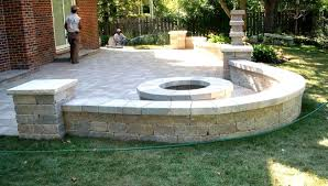 Retaining Wall Patio Design Paver Patio Wall Fabulous Paver Patio Retaining Wall