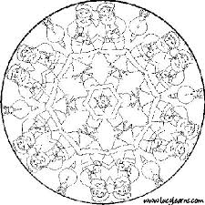 mosaic coloring pages parts speech free mandala coloring