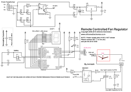 remote controlled fan regulator project using atmega8