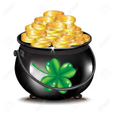 clipart pot gold clipart collection rainbow with pot of gold