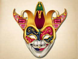venetian carnival mask jester venetian carnival mask the printable mask shop