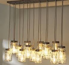 Diy Hanging Light Fixtures Diy Jar Pendant Lights Ramshackle Glam