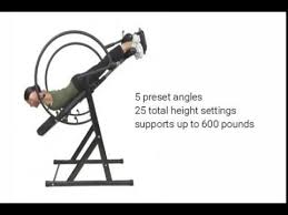 max performance inversion table health mark pro max inversion therapy table youtube