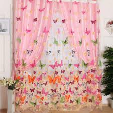 Girls Bedroom Window Treatments Butterfly Curtains Girls Room Promotion Shop For Promotional