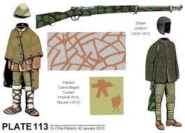 Ottoman Army Ww1 Ottoman Uniforms Ww1 Ottoman Army Snipers Ski Troops Camouflage