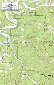 Little Creek Base Map Hercules Glades Wilderness Missouri Free Detailed Topo Map