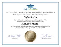 makeup artistry certification online veterinary medicine section materials