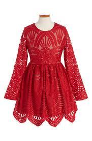 bardot junior embroidered mesh dress little girls u0026 big girls