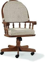 intercon dining room classic oak tilt swivel chair with castors
