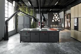 kitchen black kitchen cabinet with futuristic hood multiple