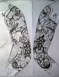 half sleeve tattoo designs drawings tattoo sleeve designs photo