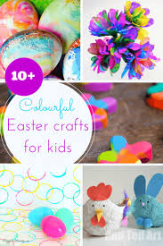 10 colourful easter crafts for toddlers