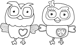 coloring pages free printable owl coloring pages for kids