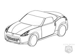 nissan 370z roadster sketches revealed autospies auto news