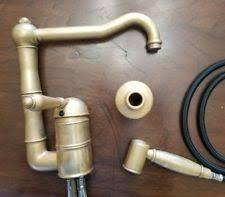 Kitchen Faucet Brass Brass Kitchen Faucets Ebay