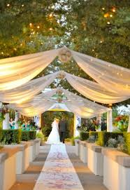 wedding draping fabric diy wedding decor using fabric curtains