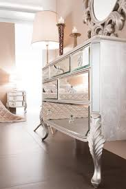 mirrored dresser panels contemporary bedroom the apartment