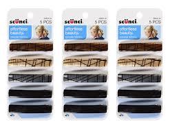 scunci hair scunci barrettes hair 5 count wholesale fashion