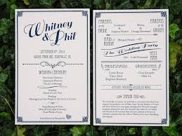 wedding ceremony program quaker wedding invitation wording new what do you include in a