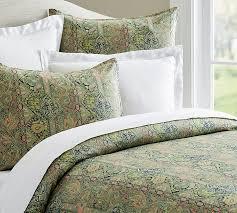 Bed And Bath Duvet Covers Odelia Print Duvet Cover U0026 Sham Pottery Barn